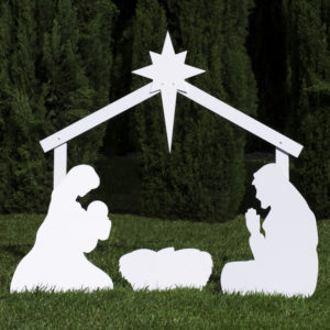 Classic Nativity Silhouette Set