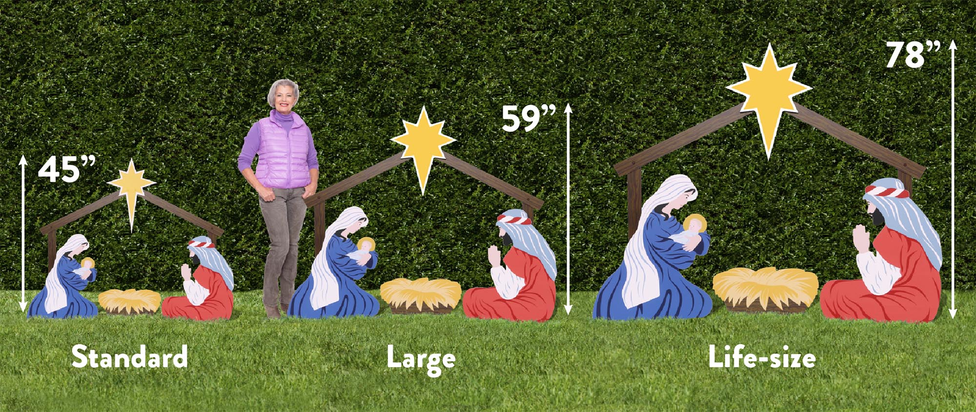 Consider, Outdoor nativity sets consider, that