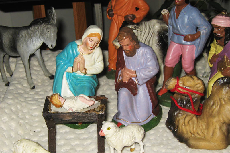 Image result for the nativity retro images