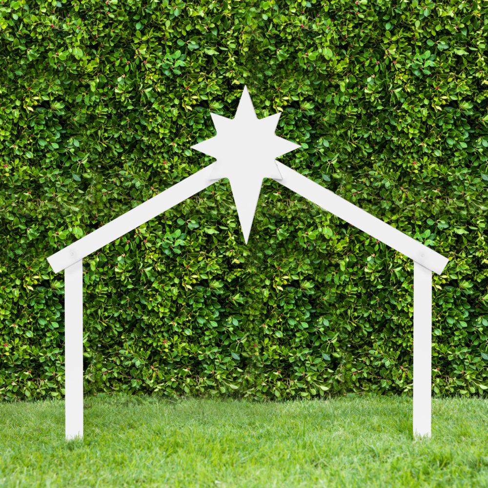 Get Your Outdoor Stable for Nativity Scene Today!